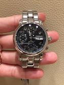 萬寶龍出清價MP05222日曆星期自動機械中性錶款38mm黑