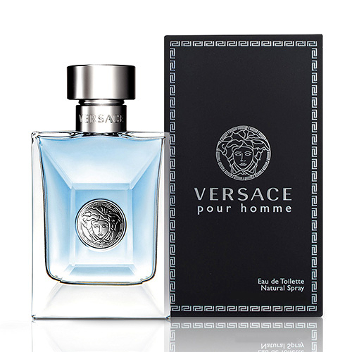 Versace Pour Homme 凡賽斯經典男性淡香水 50ml【5295 我愛購物】