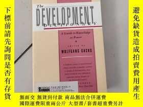 二手書博民逛書店the罕見development dictionary【大32開