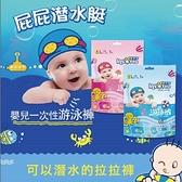【南紡購物中心】【嬰舒寶】寶寶戲水專用游泳尿布5入組 M/L/XL 尺寸任選