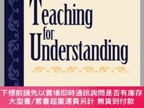 二手書博民逛書店預訂Teaching罕見For Understanding: Linking Research With Prac