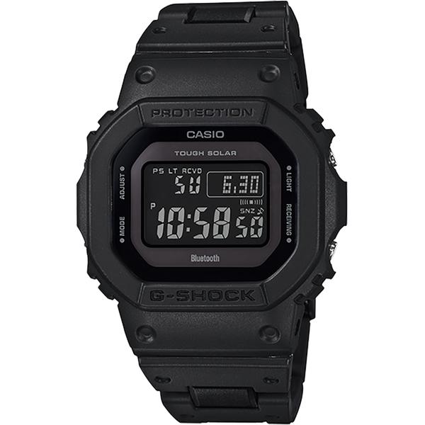 CASIO 卡西歐 G-SHOCK 藍芽電波手錶-黑 GW-B5600BC-1B / GW-B5600BC-1BDR