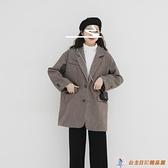 毛呢外套女呢子大衣短款日系【公主日記】