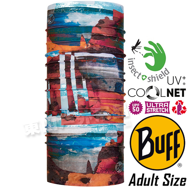 BUFF 119343.555 UV Protection驅蚊魔術頭巾 Coolnet防臭抗菌圍巾/排汗脖圍/防曬領巾