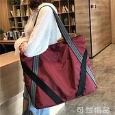 大包包女新款潮韓版時尚休閒大容量百搭撞色單肩女包 可然精品