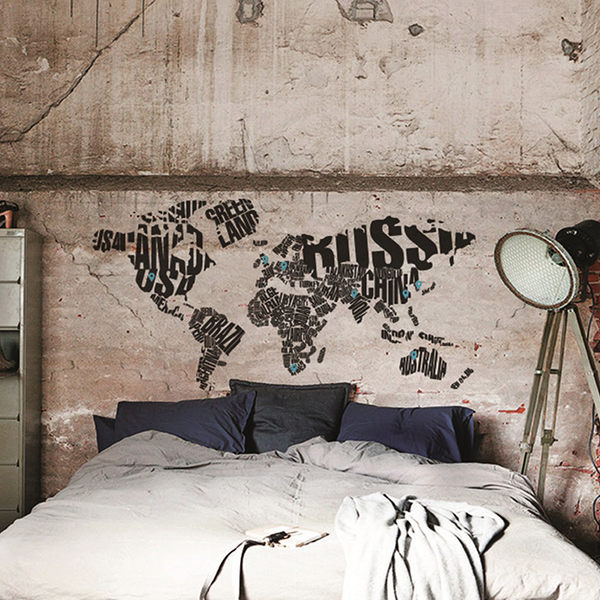 大型壁貼【WD-141 Google Map】創意壁貼 空間設計 無毒無痕 造型壁貼 英國設計 現貨供應