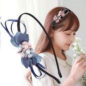 618好康鉅惠 韓國手工發飾發箍簡約布藝頭箍發帶森女