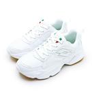 LIKA夢 LOTTO 經典厚底復古多功能運動鞋 老爹鞋系列 白色學生鞋 白灰 0579 女