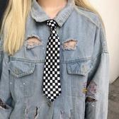 領帶 新款韓國ulzzang土酷女孩蹦迪復古配飾時尚百搭小領帶學生潮