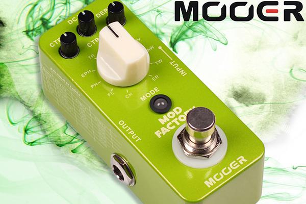 小叮噹的店 - MOOER 調製單塊 Mod Factory (MREG-MF) 效果器