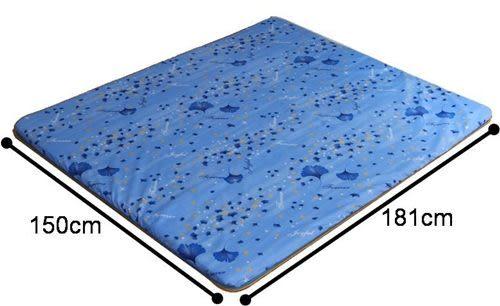 《家購網寢俱館》星辰系列-絲竹冬夏兩用折疊床墊-雙人
