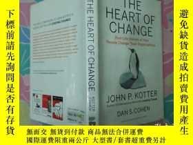 二手書博民逛書店The罕見Heart Of Change: Real-life
