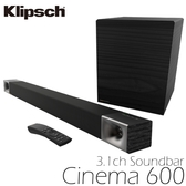 KLIPSCH 古力奇 家庭劇院 Cinema 600 3.1聲道 SoundBar 公司貨