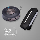 免配對 低延遲音樂傳輸升級套件組 低延遲藍牙發射器+音樂接收器 Avantree HT3187《SV9242》HappyLife