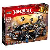 【LEGO樂高】NINJAGO忍者系列  獵龍戰車 #70654