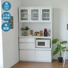 電器櫃 廚房收納 電器架 廚櫃 廚房櫃【Y0601】Soft雙層收納廚房櫃120X42X200cm 完美主義