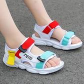 女童運動涼鞋2020夏季新款小公主女孩童鞋潮軟底中大兒童男童鞋子