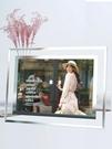 水晶相框擺臺76810寸七寸創意韓版玻璃相片 青山市集