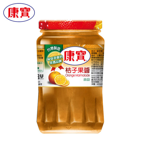 康寶 果醬桔子 400g