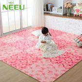 neeu泡沫地墊 拼接地板墊臥室榻榻米墊子地墊拼圖地墊兒童爬行墊