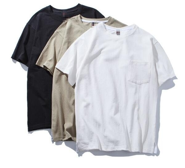 FINDSENSE Z1 日系 時尚 街頭 潮 男 素面 簡約純色 3色 短袖T