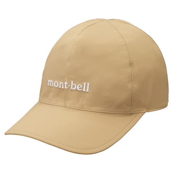 [好也戶外]mont-bell GTX Meadow Cap防水透氣棒球帽 卡其/黑 No.1128626-TN/BK