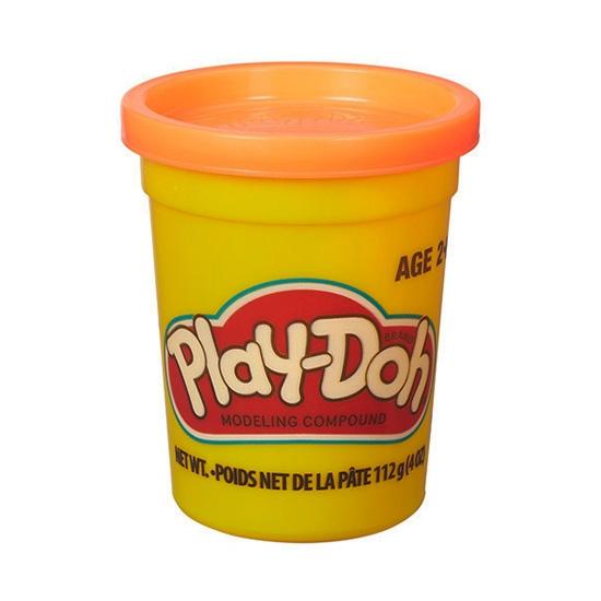 Play-Doh 培樂多黏土 單罐黏土 4oz (橘) 【鯊玩具Toy Shark】