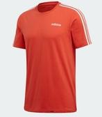 Adidas Essentials 3-Stripes男款橘色短袖上衣-NO.FM6231