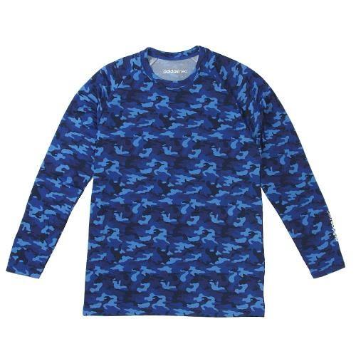 日本限定款adidas neo 刷毛長袖T恤迷彩448532販屋