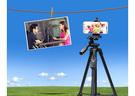 【VCT-5208】YUNTENG 雲騰 手機/相機/單眼 藍芽遙控自拍 奇美ABS 鋁合金三角架/專業照相/星軌/水平儀