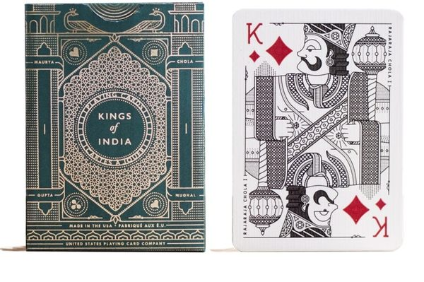 Kings of India Playing Cards