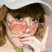 MD-大方框眼鏡/墨鏡-6色【08040236】