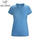 【ARC TERYX 始祖鳥 女 Kapta 快乾短袖圓領衫《倒影藍》】25136/短袖T恤/運動衫/透氣/吸濕排汗