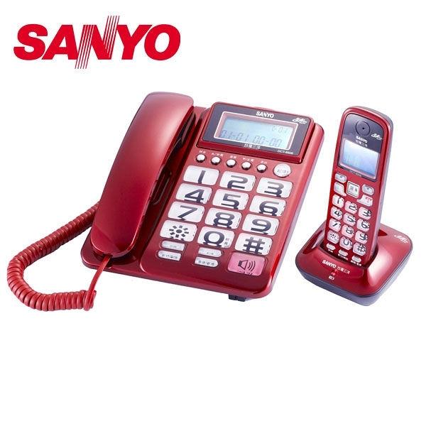【南紡購物中心】SANLUX 台灣三洋 數位親子機電話 DCT-8908