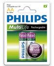 全新福利品 PHILIPS 飛利浦 鎳氫低自放充電電池3號2入