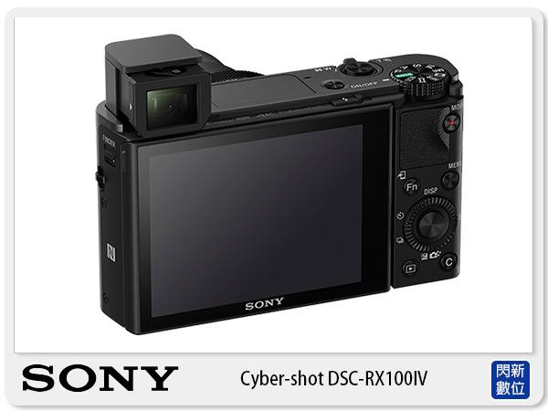 SONY DSC-RX100 IV 4K 錄影 自拍翻轉 蔡司 電子觀景窗 (RX100 M4,公司貨)