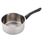 HOLA 時尚316不鏽鋼雪平鍋 18cm 單柄 湯鍋 不挑爐 單人鍋 簡單料理 可吊掛