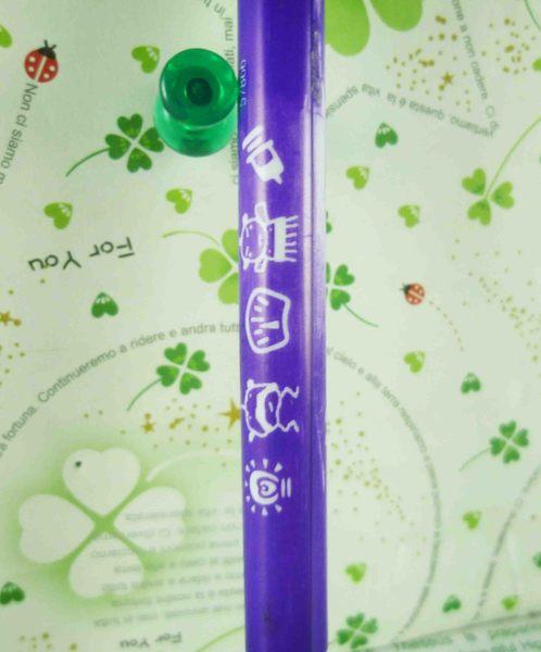 【震撼精品百貨】寵物機~自動筆附印章-綠