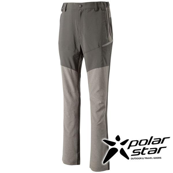 PolarStar 男抗UV彈性多口袋長褲 P16315『炭灰』戶外│休閒│釣魚褲│防曬褲│吸濕排汗褲