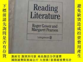 二手書博民逛書店Reading罕見Literature(英美文學閱讀)Y1468