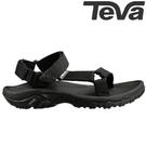 TEVA 熱銷經典織帶水陸機能運動涼鞋Hurricane XLT - 黑