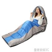 睡袋戶外成人四季冬季加厚露營保暖室內羽絨睡袋YTL「榮耀尊享」