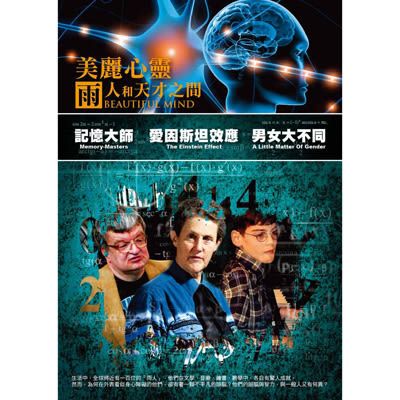 美麗心靈:雨人和天才之間(三碟套裝)DVD