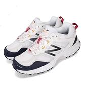 New Balance MT510 2E 寬楦 白灰 深藍 越野慢跑鞋 老爹鞋 男鞋 女鞋 【ACS】 MT510WB42E