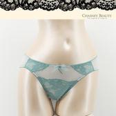 Chasney Beauty-情挑S-XL蕾絲三角褲(蒂芬尼綠)