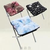 折疊小凳子 布藝擱腳凳休閒時尚方凳折疊凳矮凳換鞋凳午休午睡陽臺沙發小凳子現貨快出