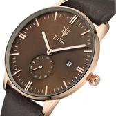 手錶 韓版男錶皮帶防水商務男士手錶夜光腕錶石英錶時尚潮流