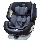 NANIA 納尼亞 納歐聯名 migo系列360度旋轉汽車安全座椅/汽座-黑色FB00370〔衛立兒生活館〕