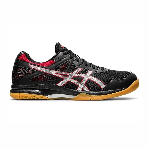 Asics Gel-task 2 [1071A037-004] 男鞋 運動 排球 支撐 靈活 透氣 緩衝 亞瑟士 黑 紅