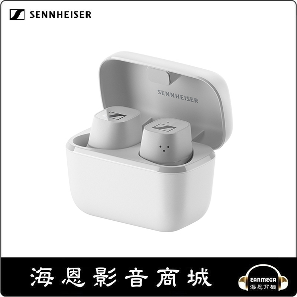 【海恩數位】Sennheiser CX 400BT True Wireless 真無線藍牙耳機 白色